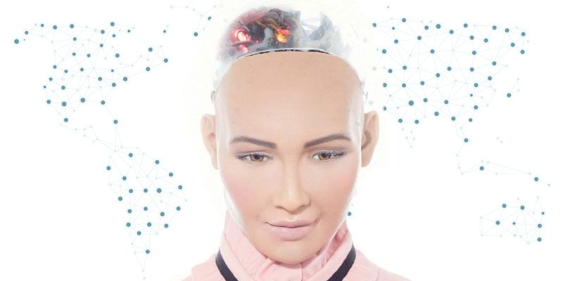 Sophia - First Ever Robot Citizen to Visit India